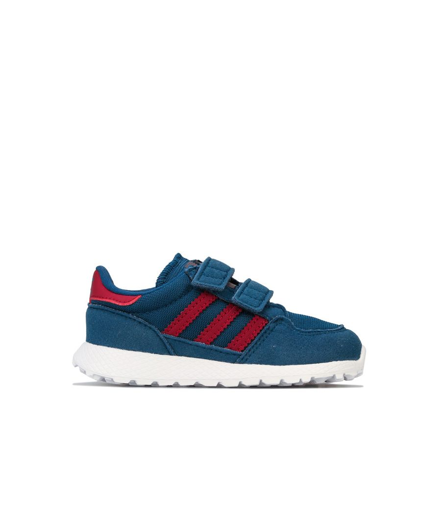 Image for Boy's adidas Originals Infant Forest Grove Trainers in Petrol
