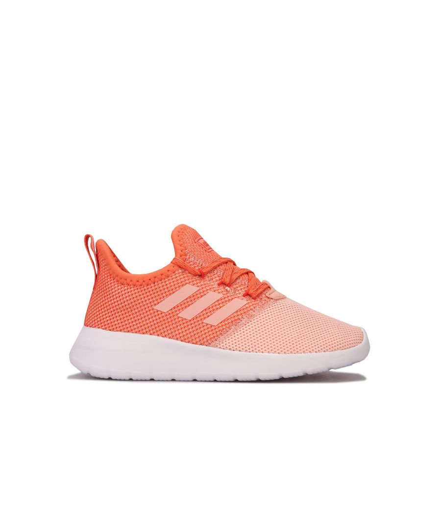 Image for Girl's adidas Junior Lite Racer RBN Trainers in Pink