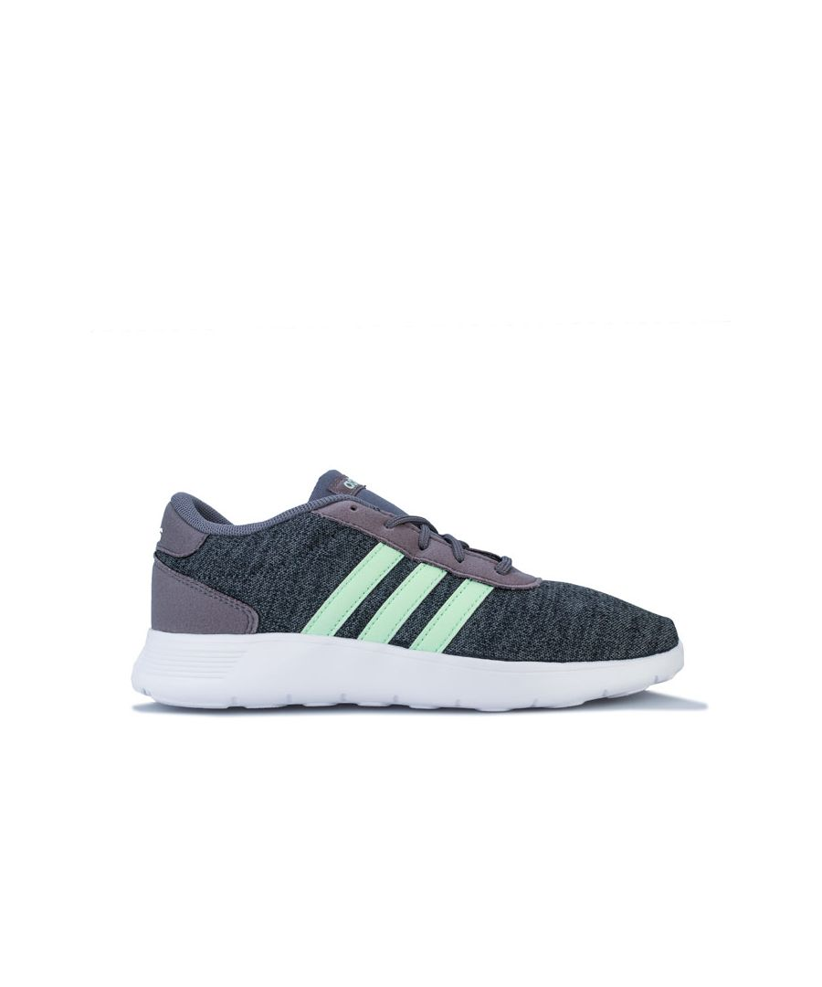 Image for Boy's adidas Junior Lite Racer Trainers in Grey