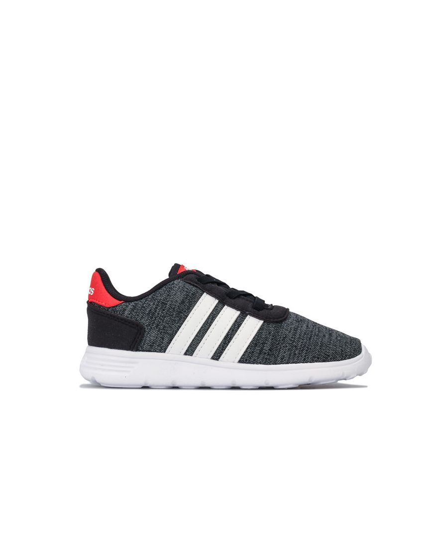 Image for Boy's adidas Infant Lite Racer Trainers in Black