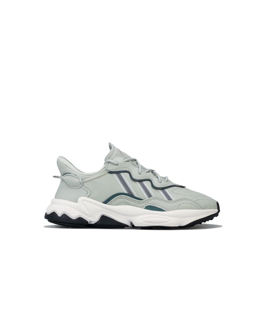 Image for Men's adidas Originals Ozweego Running Trainers in Grey