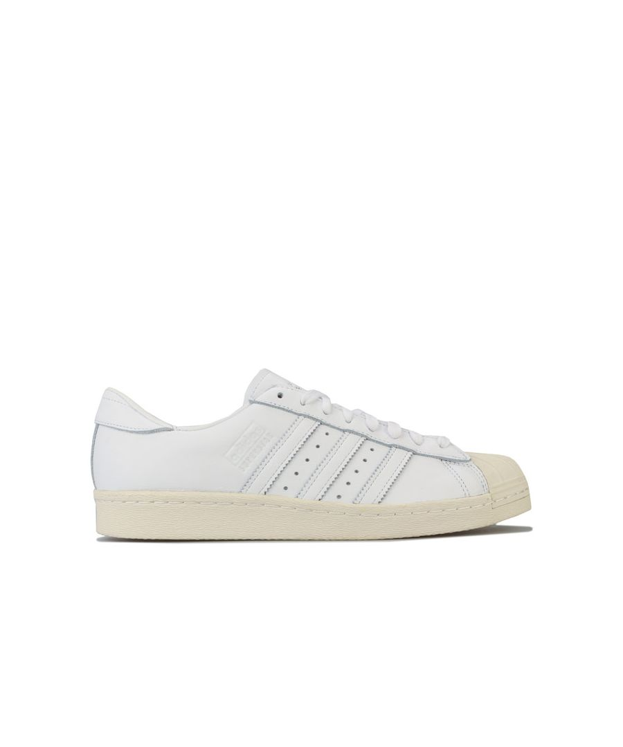 Image for adidas Originals Superstar 80s Recon Trainers in White