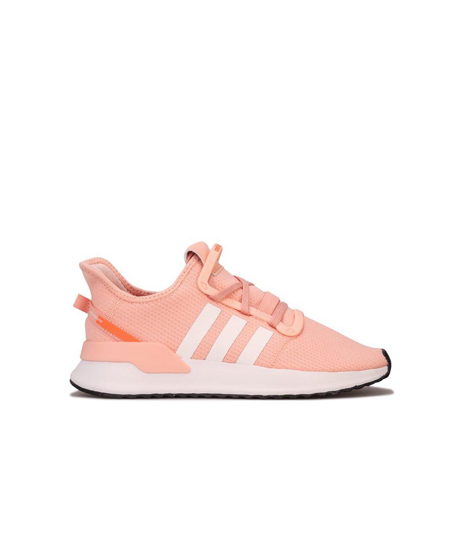 Image for Girl's adidas Originals Junior U_Path Run Trainers in Pink
