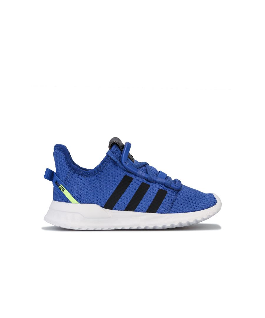 Image for Boy's adidas Originals Infant U_Path Run Trainers in Blue
