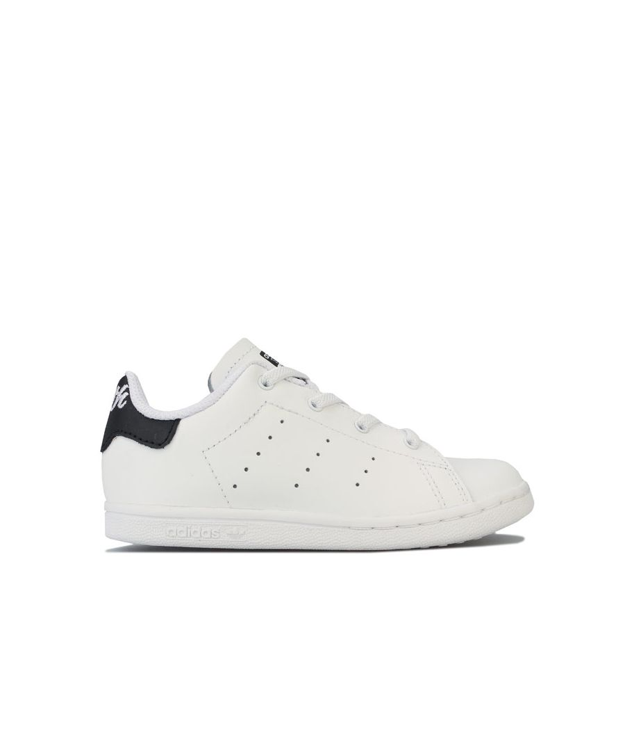 Image for Boy's adidas Originals Infant Stan Smith CF Trainers in White Black