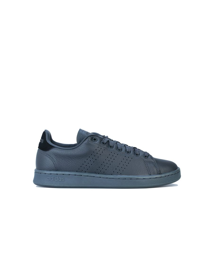 Image for Men's adidas Advantage Trainers in Grey