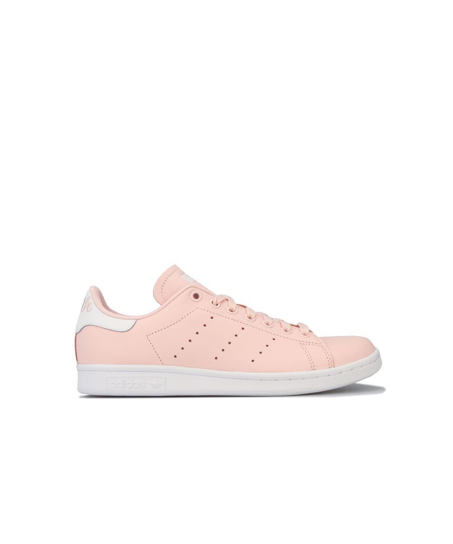 Image for Women's adidas Originals Stan Smith Trainers in Pink white