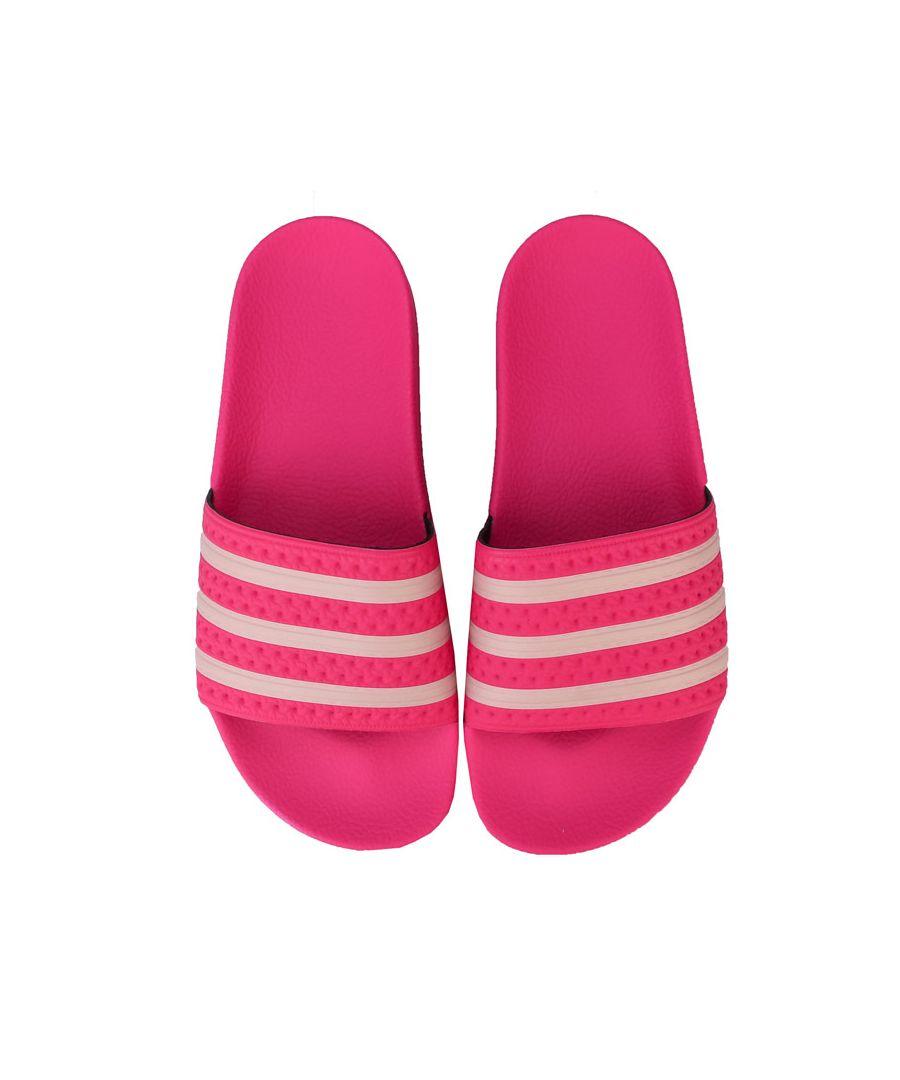 Image for Women's adidas Originals Adilette Slide Sandals in Pink