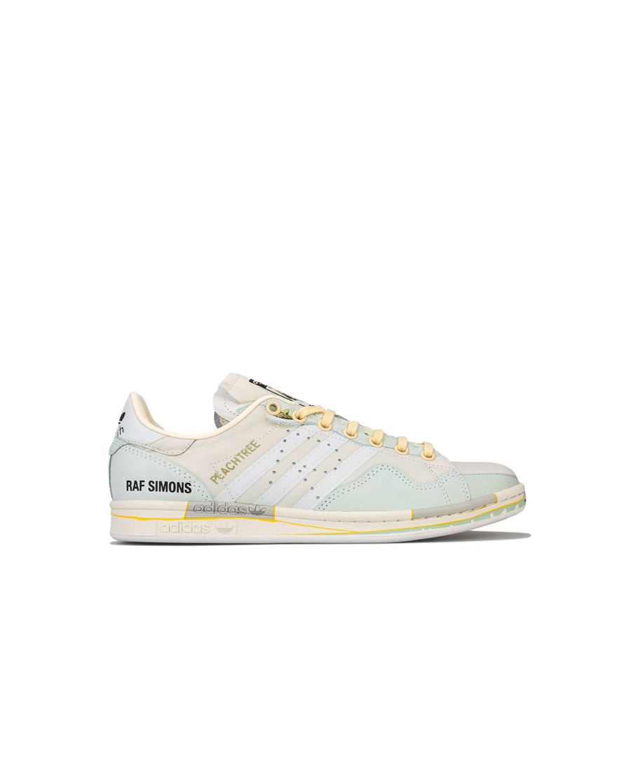 Image for Men's adidas Originals Raf Simons Peach Stan Smith Trainers in Sand