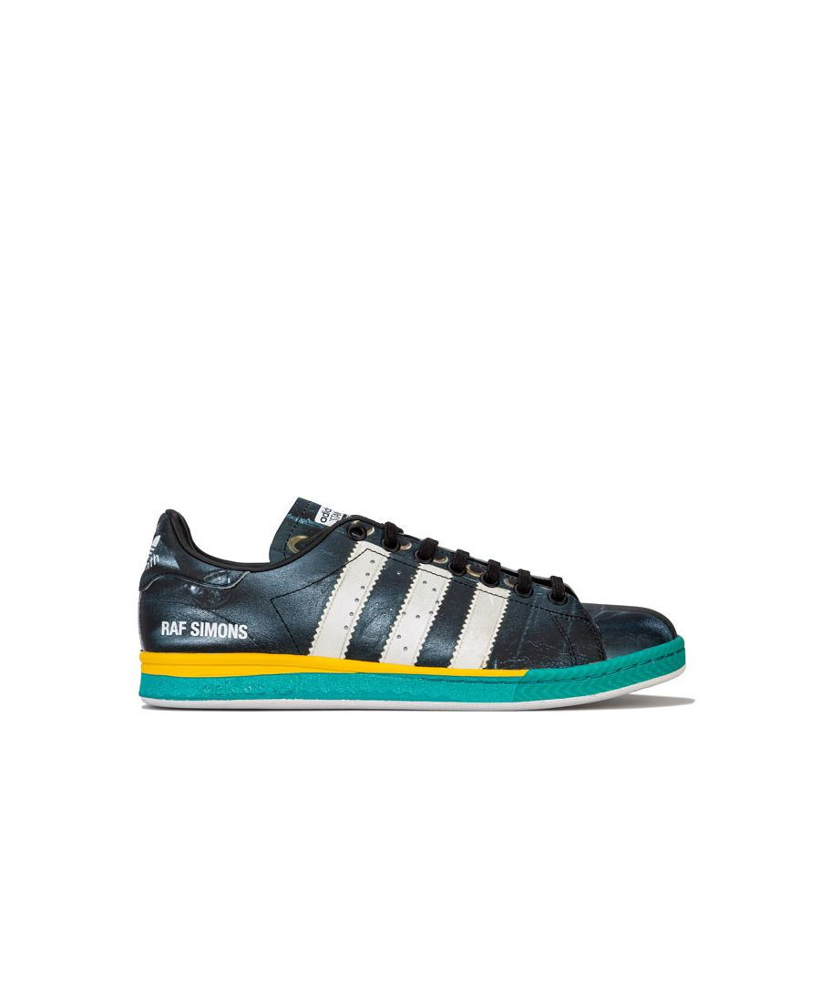 Image for Men's adidas Originals RS Samba Stan Smith Trainers in Black-White