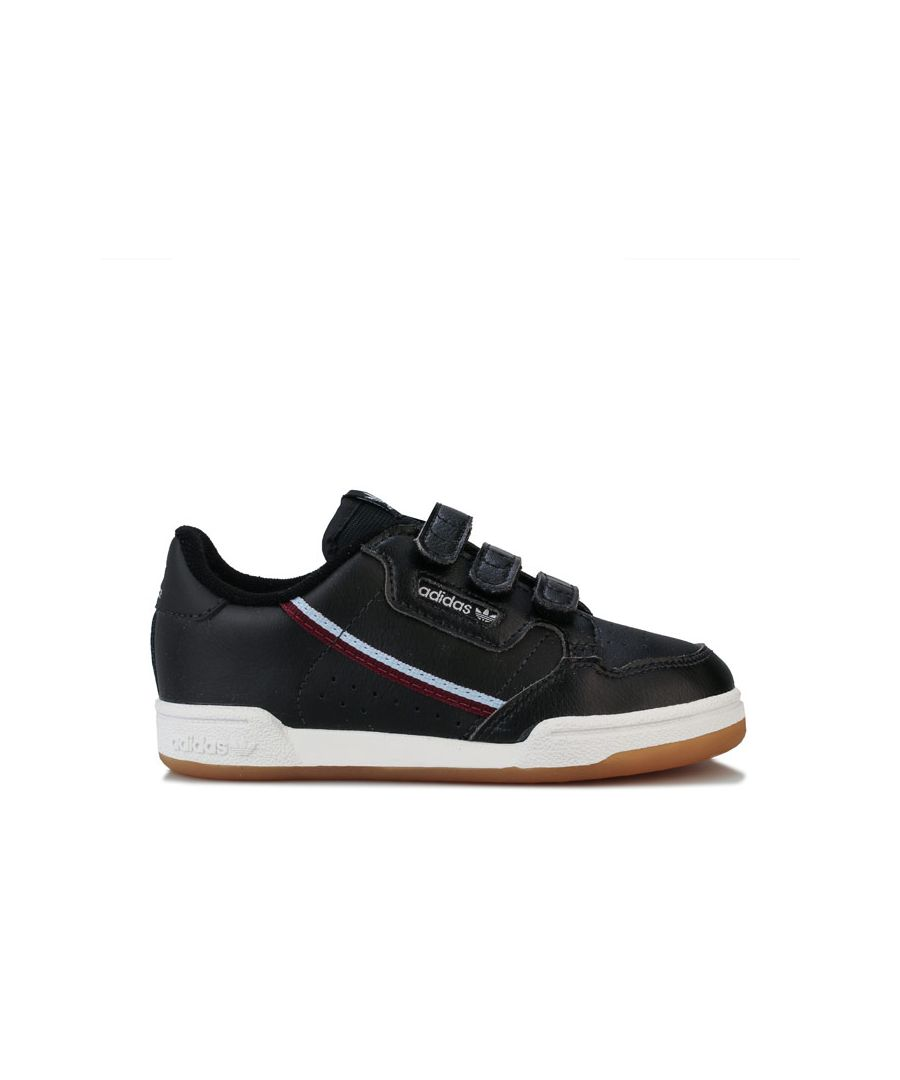 Image for Boy's adidas Originals Infant Continental 80 Trainers in Black