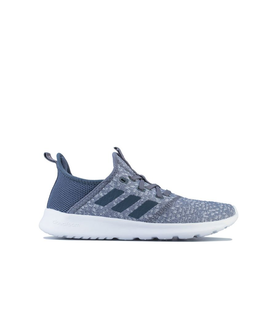 Image for Women's adidas Cloudfoam Pure Trainers in Grey