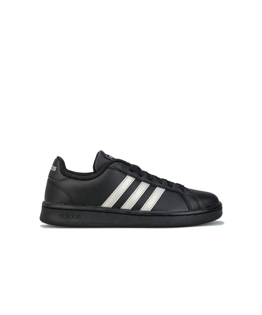 Image for Women's adidas Grand Court Trainers in Black
