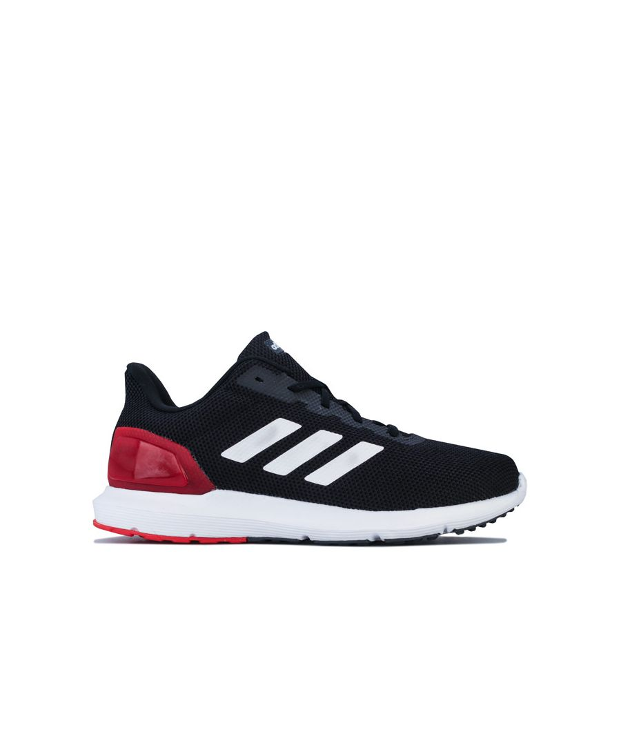 Image for Men's adidas Cosmic 2 Running Shoes in Black Red