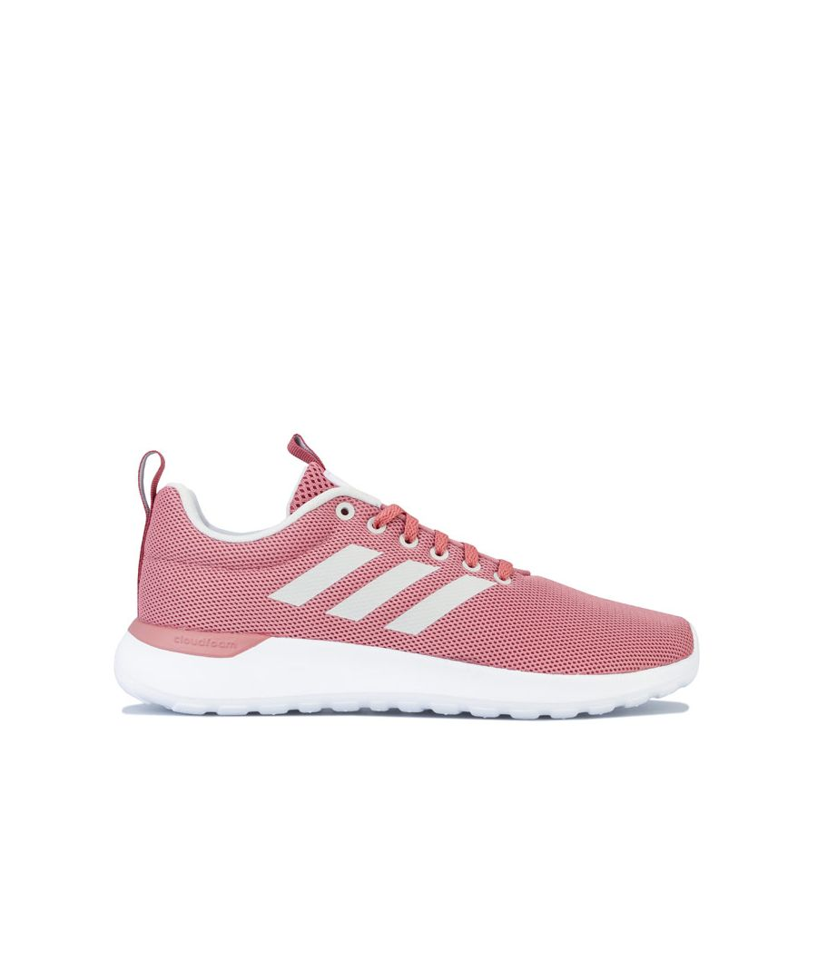 Image for Women's adidas Lite Racer Cln Trainers in Dusky Pink