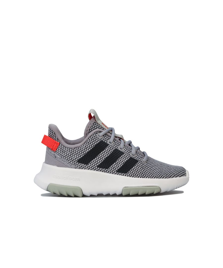 Image for Boy's adidas Junior Racer Trail Trainers in Grey