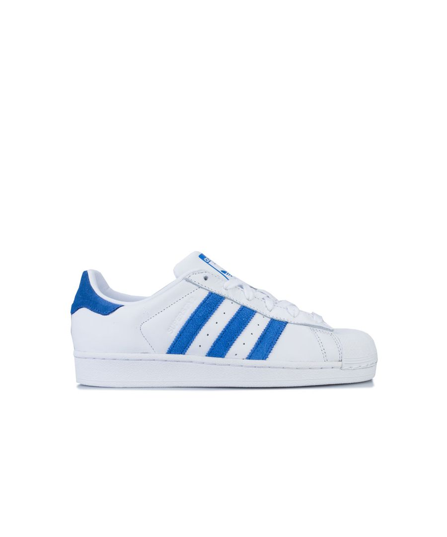 Image for adidas Originals Superstar Trainers in White