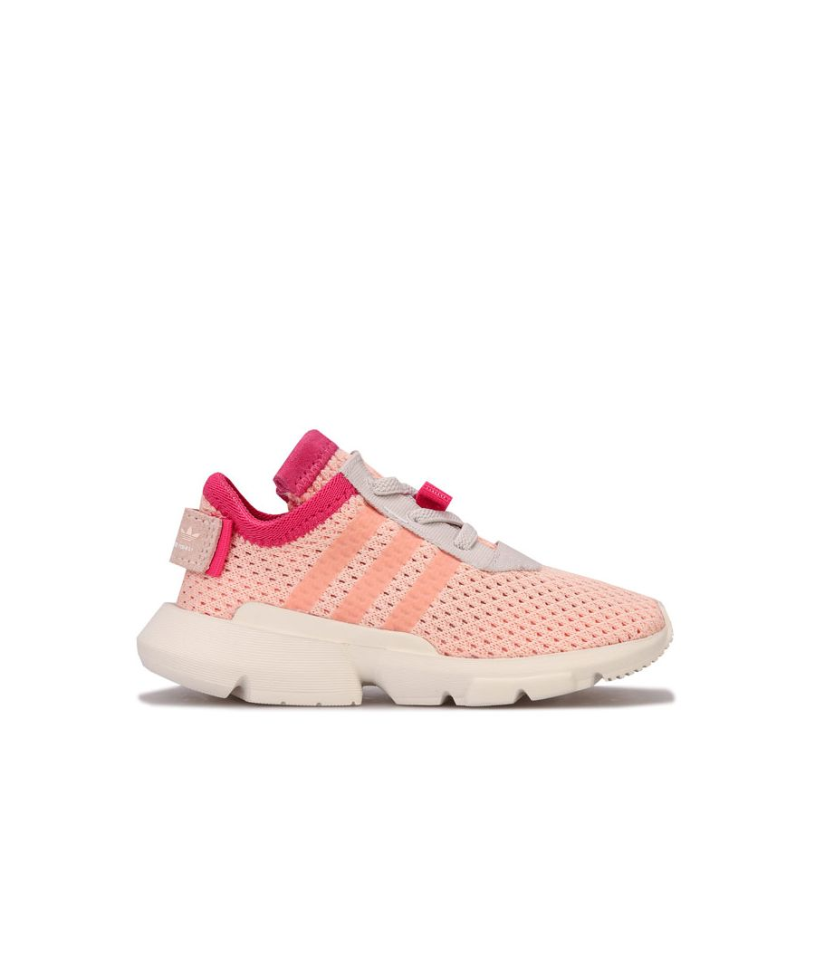 Image for Girl's adidas Originals Infant POD-S3.1 Trainers in Peach