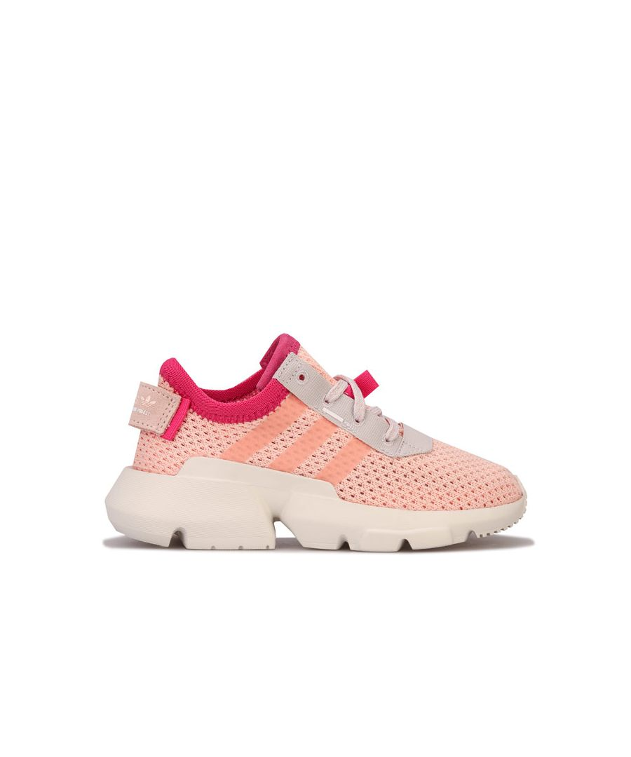 Image for Girl's adidas Originals Children POD-S3.1 Trainers in Peach