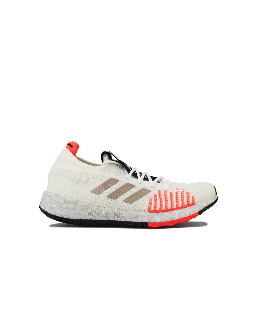 Image for Men's adidas Pulseboost HD Running Shoes in White red