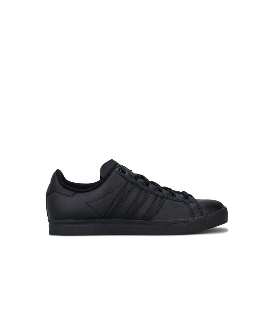 Image for Boy's adidas Originals Junior Coast Star Trainers in Black