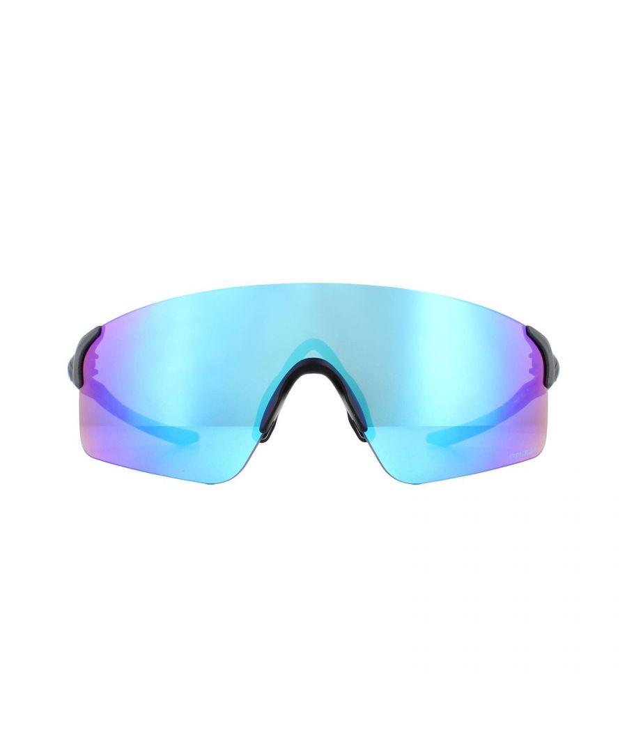 Image for Oakley Sunglasses EV Zero Blades OO9454-03 Steel Prizm Sapphire