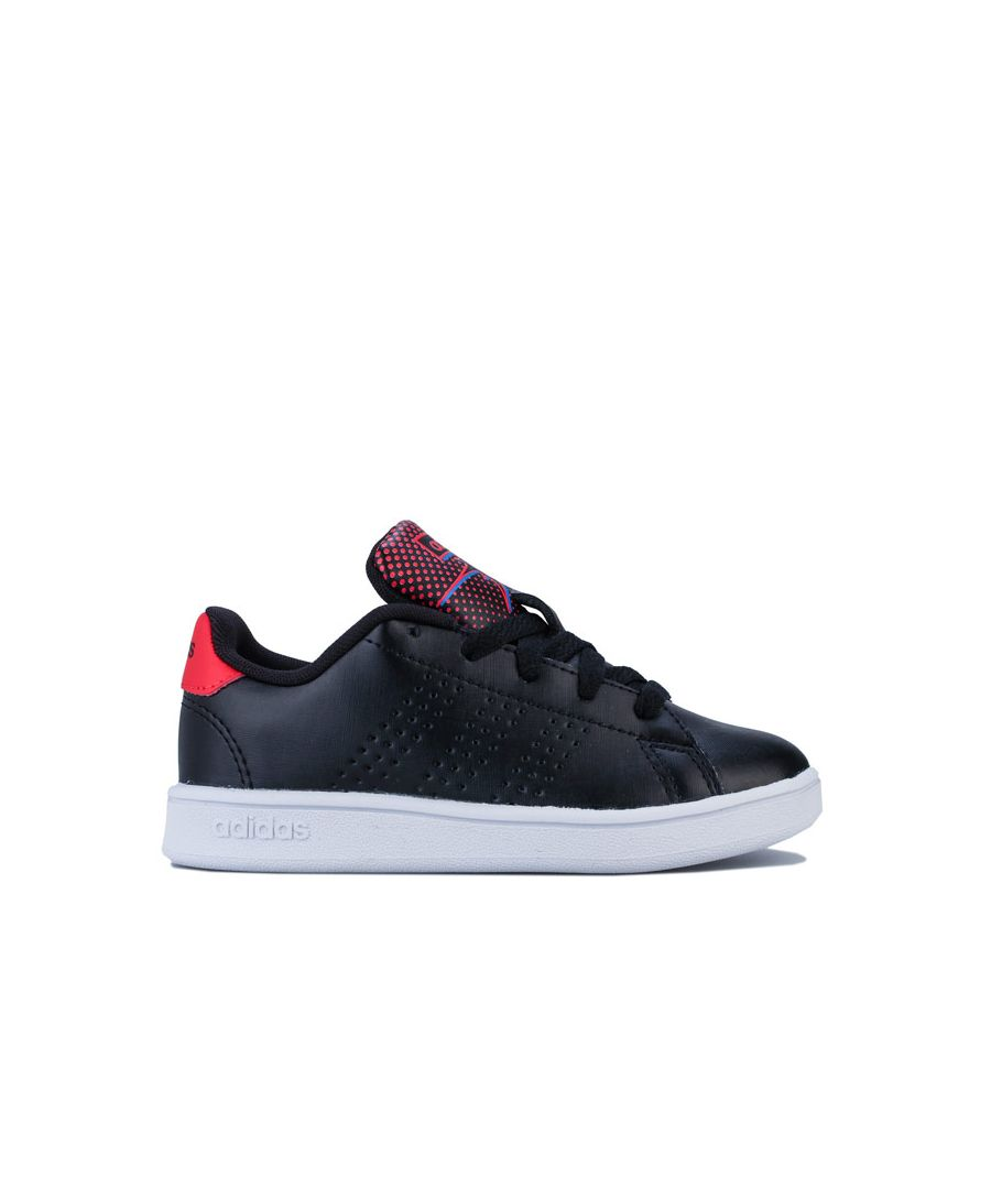 Image for Boy's adidas Junior Advantage Trainers in Black