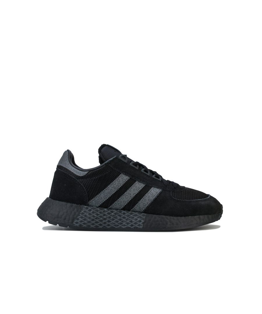 Image for Men's adidas Originals Marathon Tech Trainers in Black