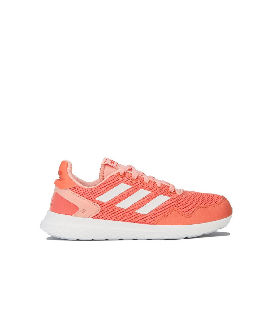 Image for Girl's adidas Children Archivo Trainers in Coral
