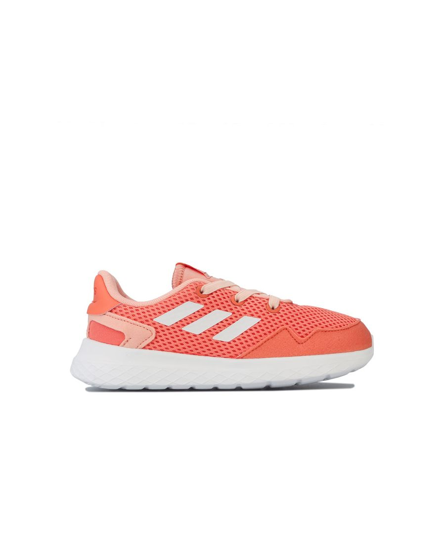 Image for Girl's adidas Infant Archivo Trainers in Pink