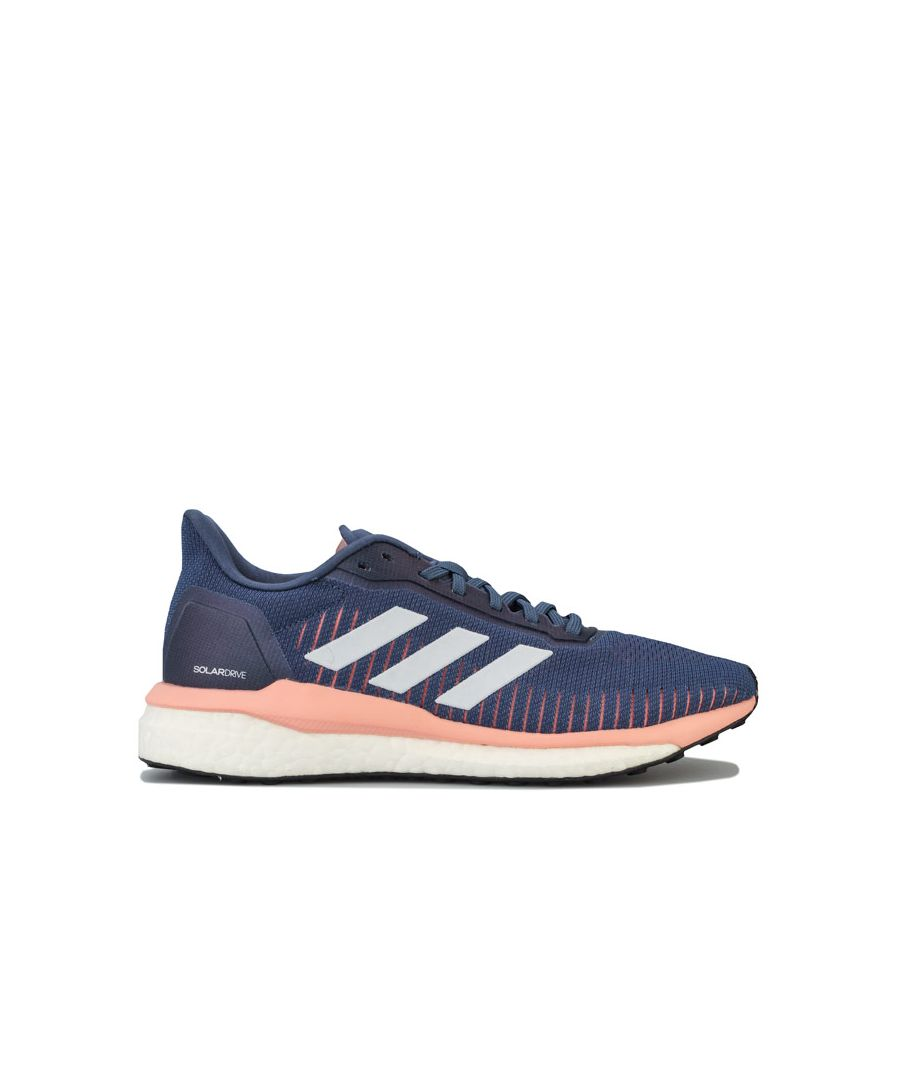 Image for Women's adidas Solar Drive 19 Running Shoes in Dark Blue