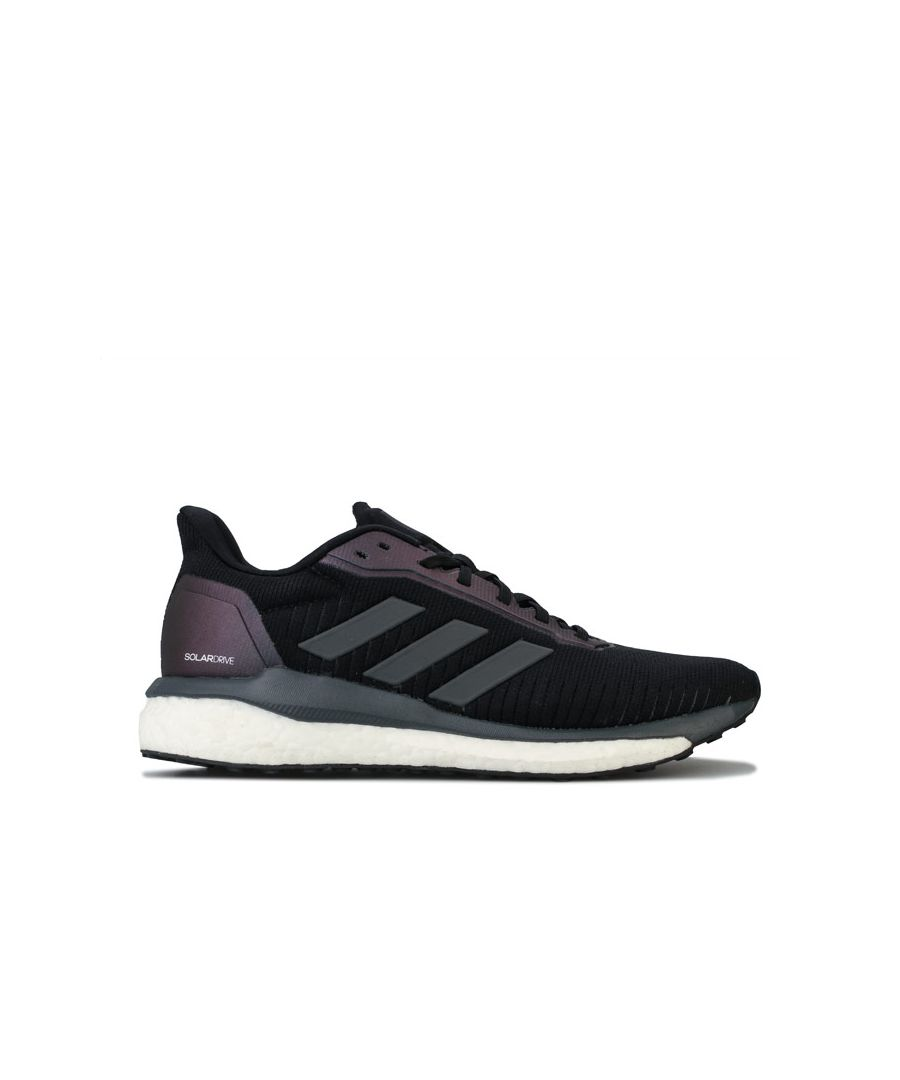 Image for Men's adidas Solar Drive 19 Running Shoes in Black