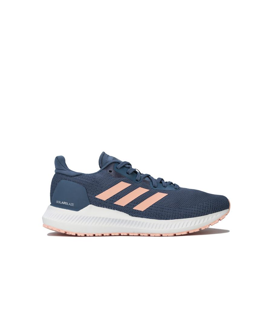 Image for Women's adidas Solar Blaze Running Shoes in Dark Blue