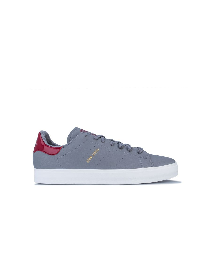 Image for Men's adidas Originals Stan Smith Vulc Trainers in Grey