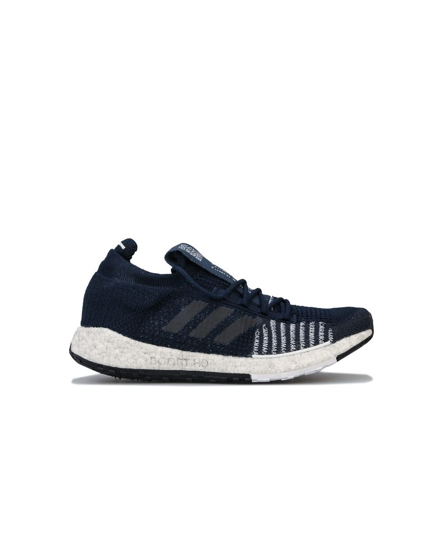 Image for Men's adidas Pulse Boost HD Running Shoes in Navy
