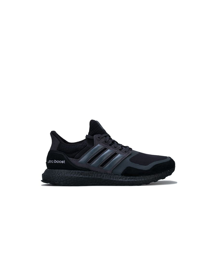 Image for Men's adidas UltraBOOST S&L Running Trainers in Black