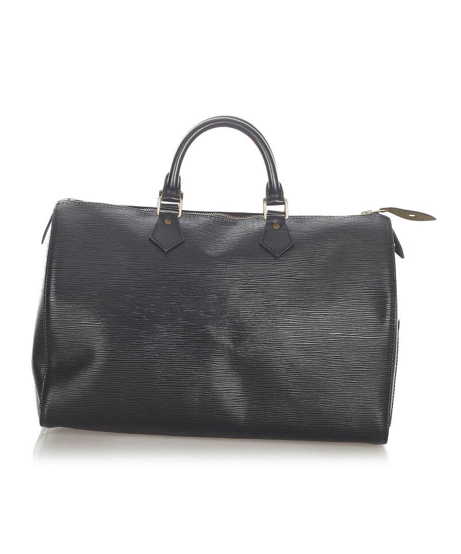 Image for Vintage Louis Vuitton Epi Speedy 35 Black