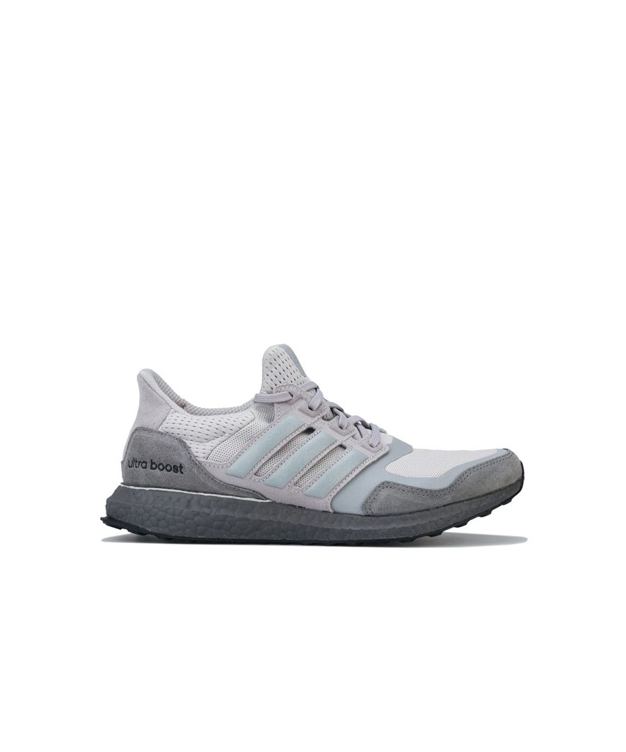 Image for Men's adidas UltraBOOST S&L Running Trainers in Grey