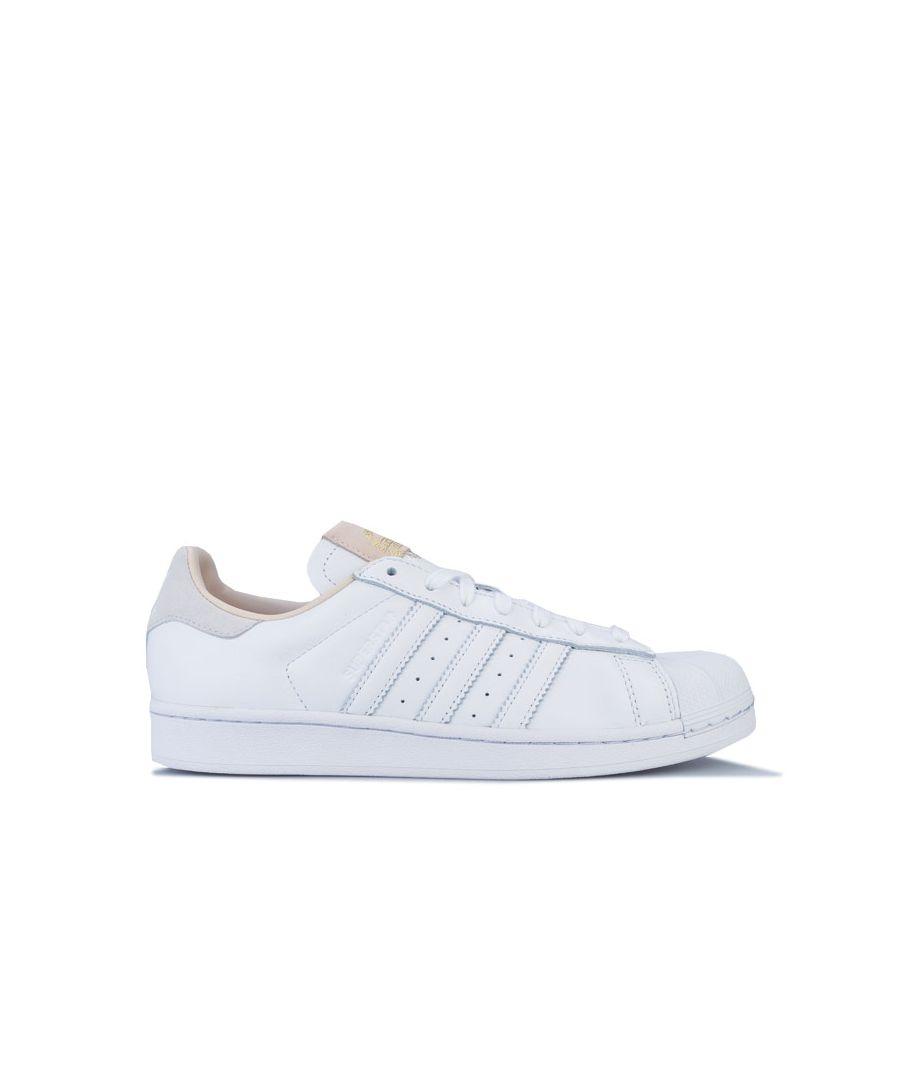 Image for Men's adidas Originals Superstar Trainers in White