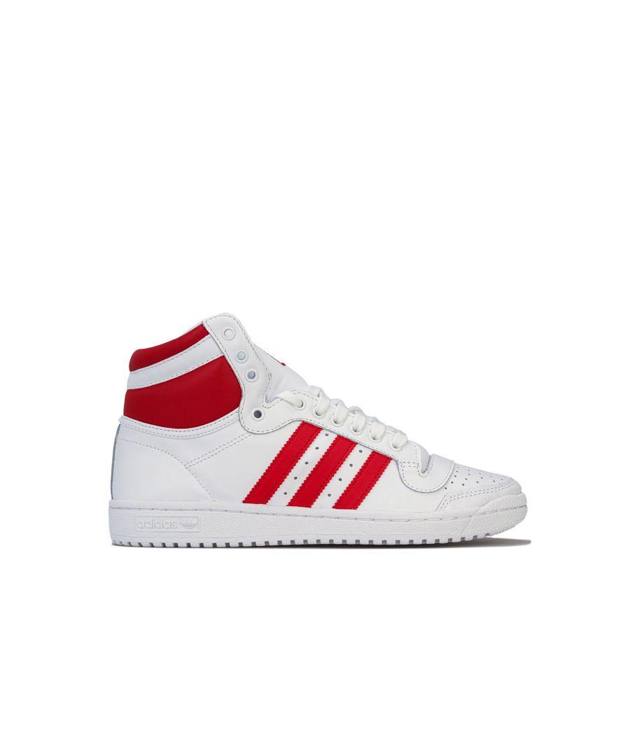 Image for Men's adidas Originals Top Ten Hi Trainers in White