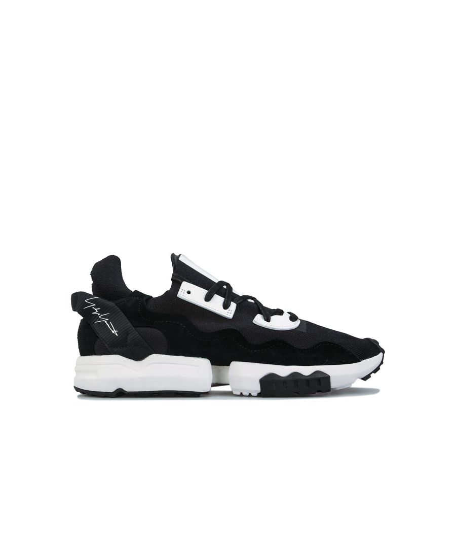 Image for Men's Y-3 ZX Torision Trainers in Black