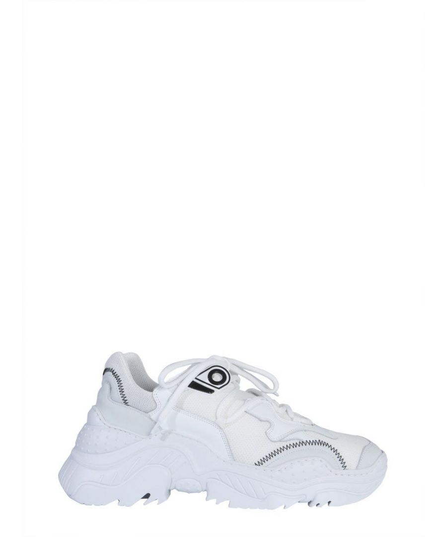 Image for N°21 MEN'S 00119SSSU0110009W001 WHITE LEATHER SNEAKERS