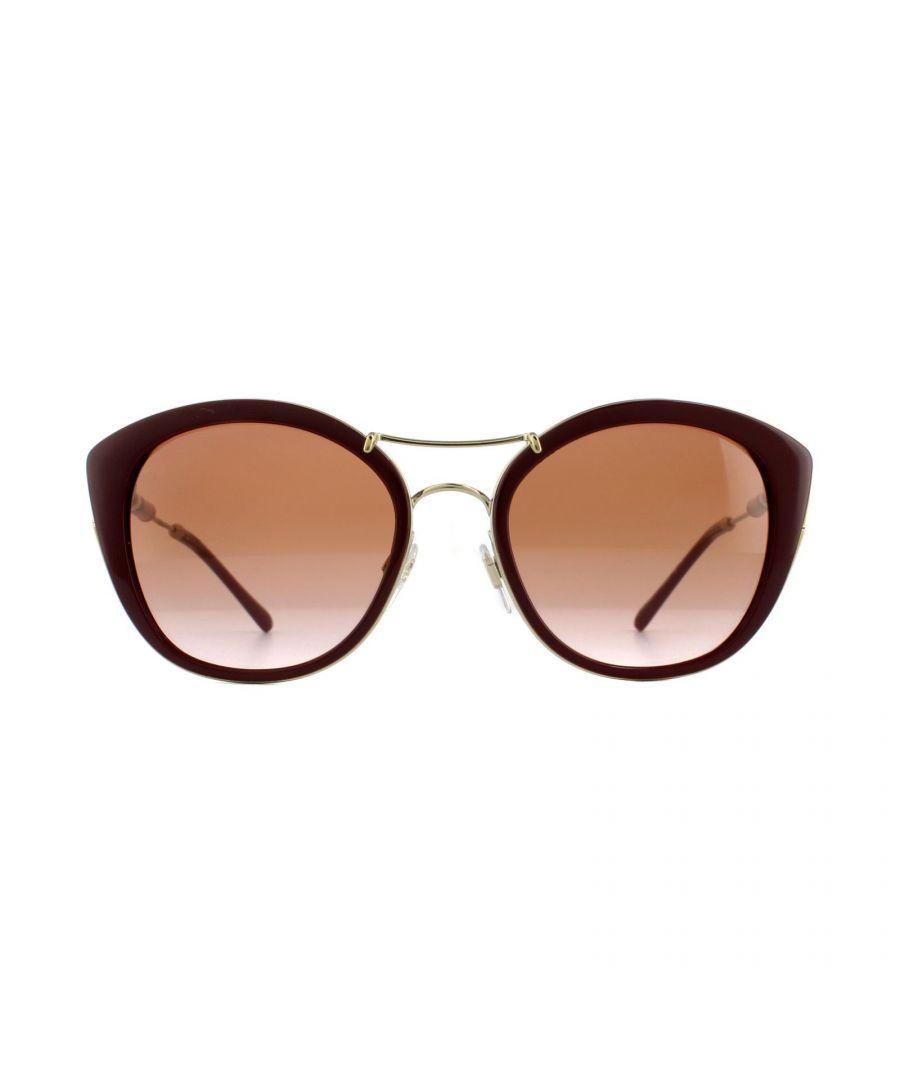 Image for Burberry Sunglasses BE4251Q 340313 Bordeaux Brown Gradient