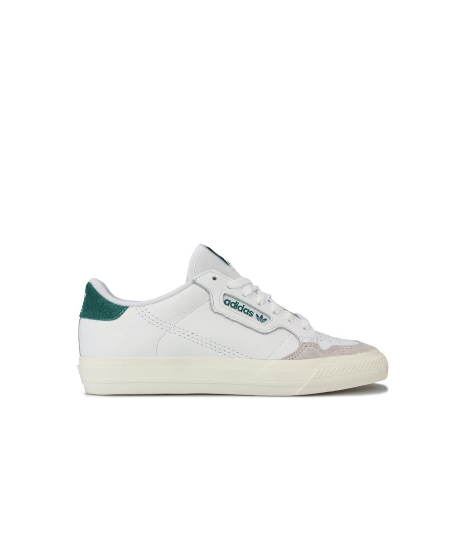 Image for Men's adidas Continental Vulc Trainers in White