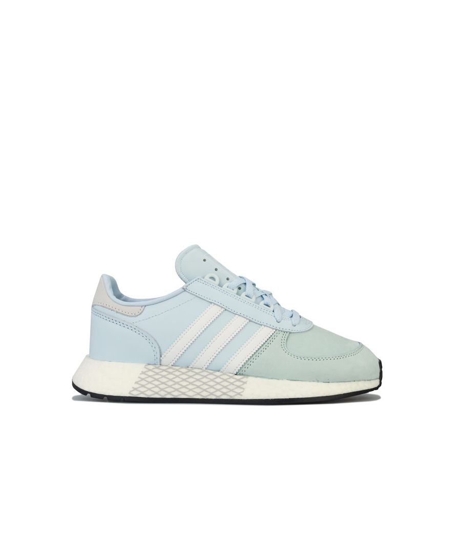 Image for Women's adidas Originals Marathon Tech Trainers in Sky Blue