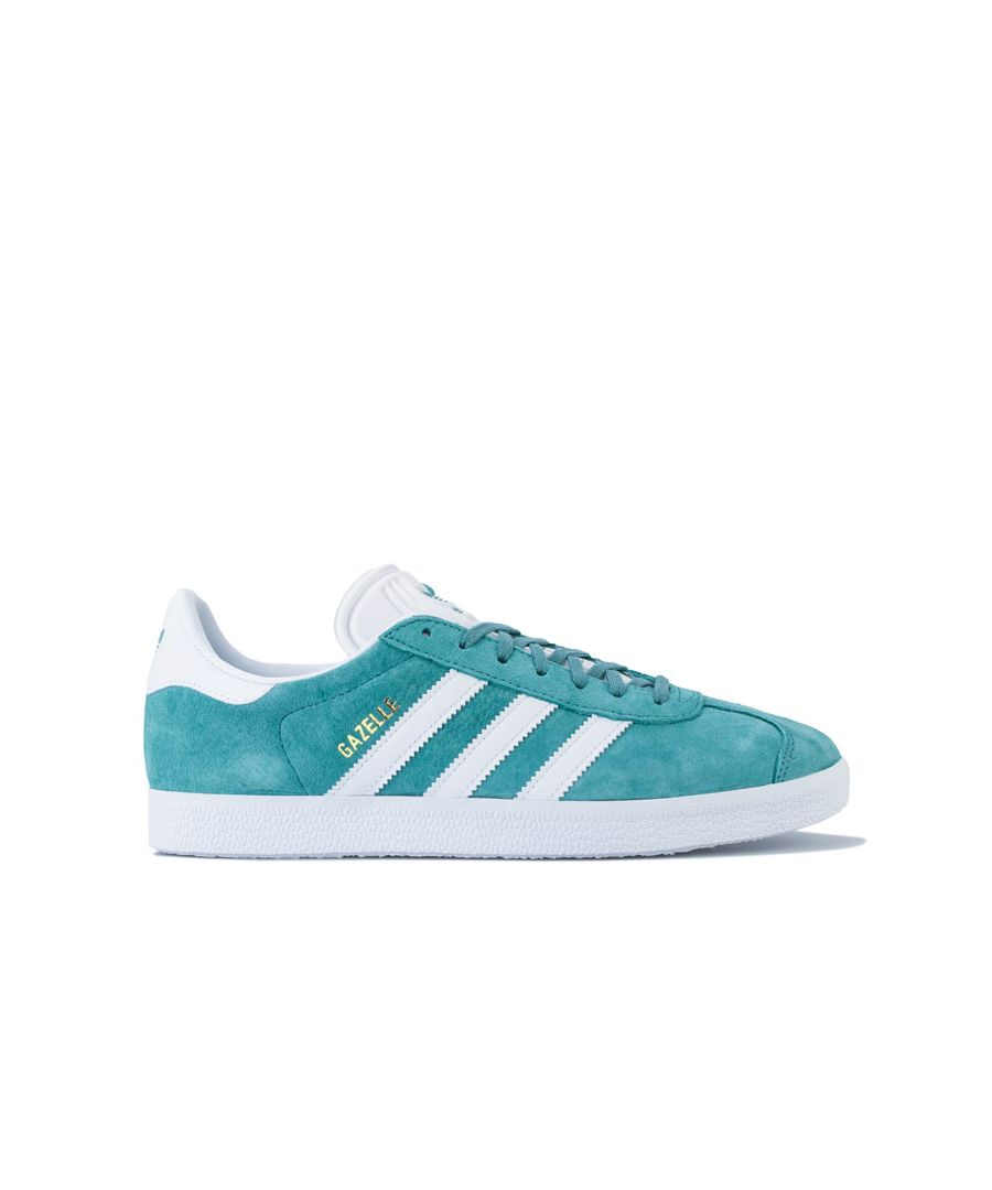 Image for adidas Originals Gazelle Trainers in Green