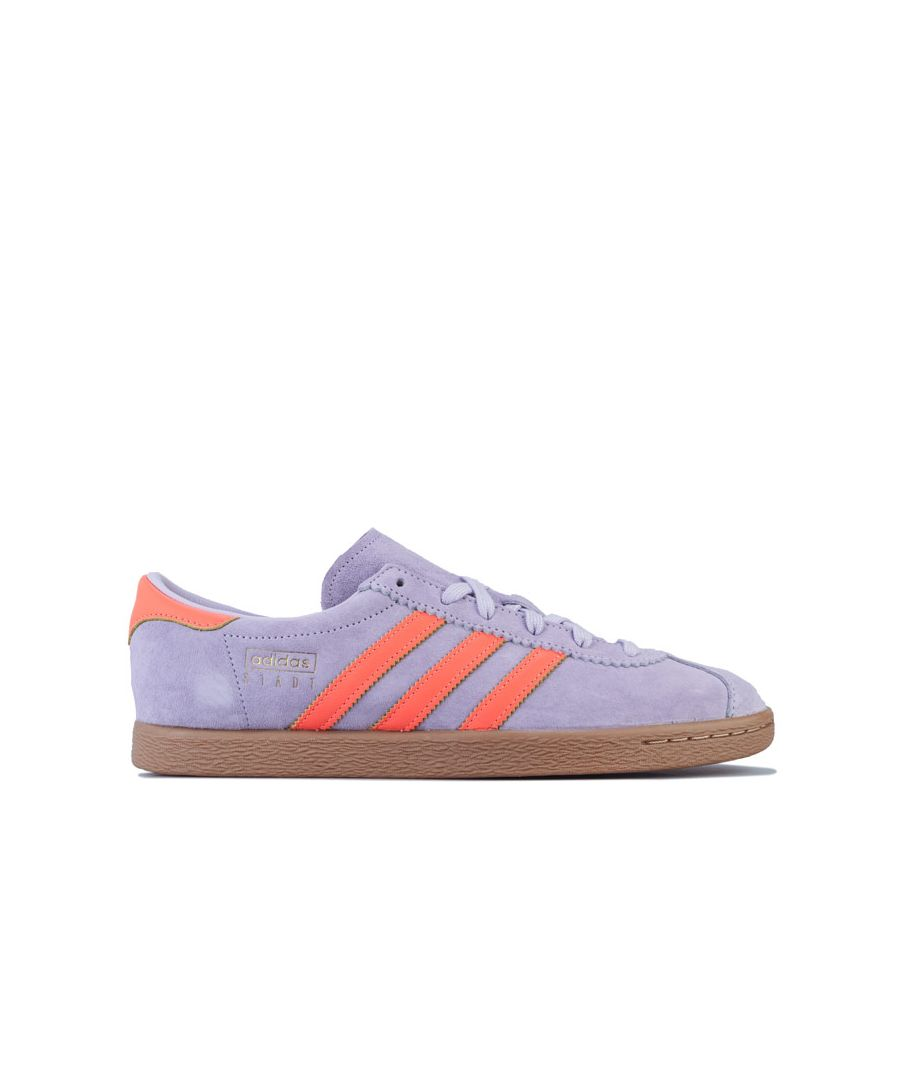 Image for Men's adidas Originals Stadt Trainers in Lilac