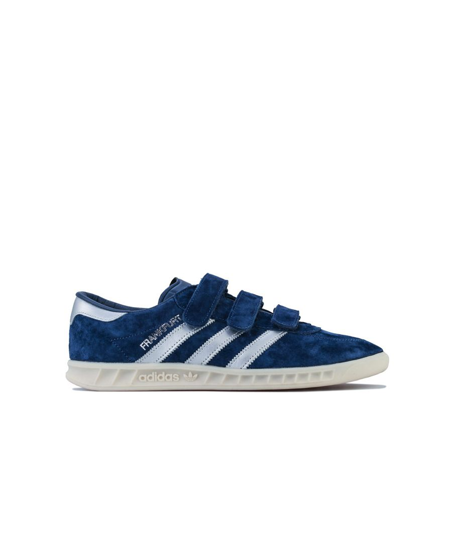 Image for Men's adidas Originals Frankfurt Trainers in Indigo