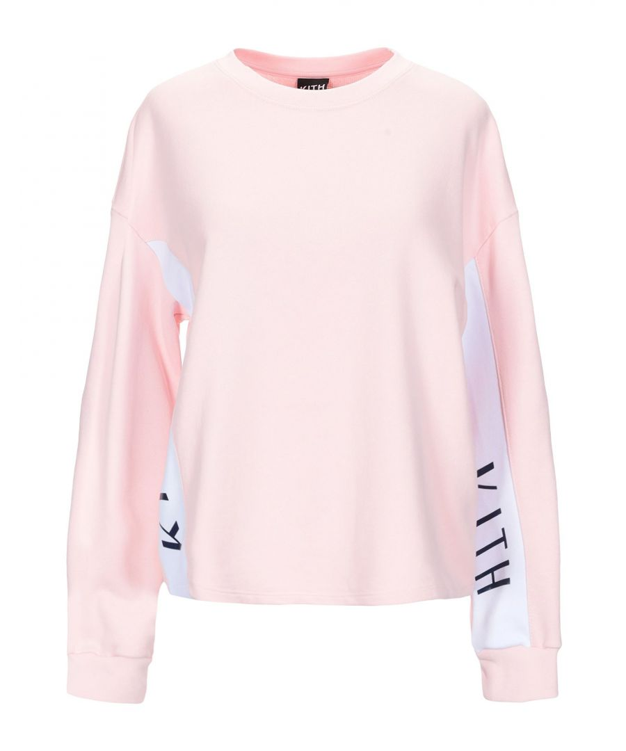 Image for Kith Women's Cotton Sweatshirt in Pink