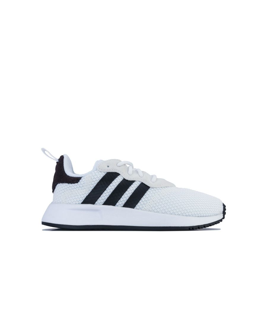 Image for Boy's adidas Children X PLR Trainers in White Black